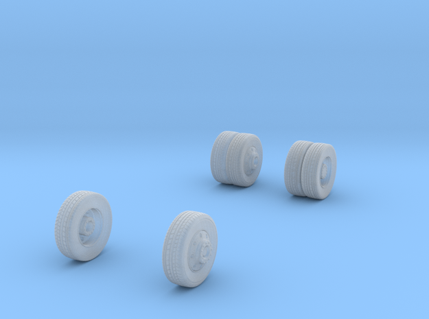 1/64 Wheels for FDNY Pumper