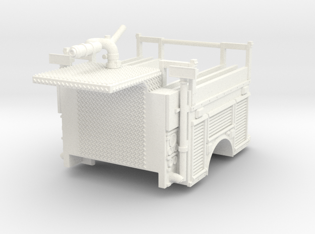 1/64 FDNY ATVR Body in White Processed Versatile Plastic