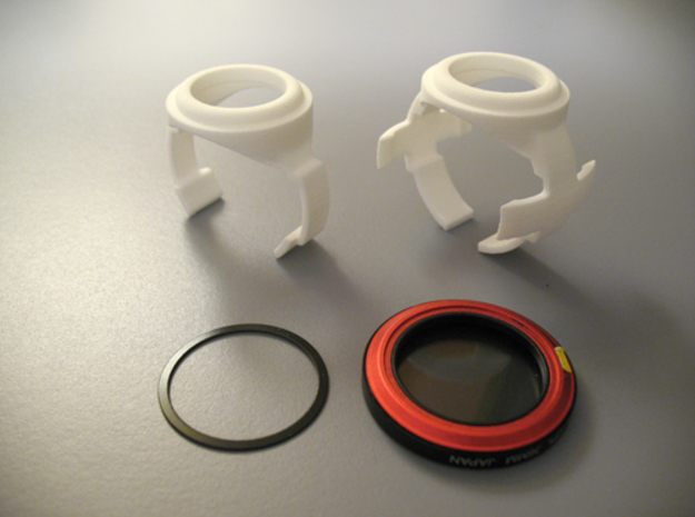 Blackvue DR650 cam adapter - Carry Speed MagFilter in White Strong & Flexible