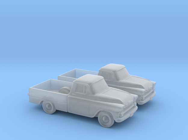1/120 2X 1958 Chevrolet Apache in Frosted Ultra Detail