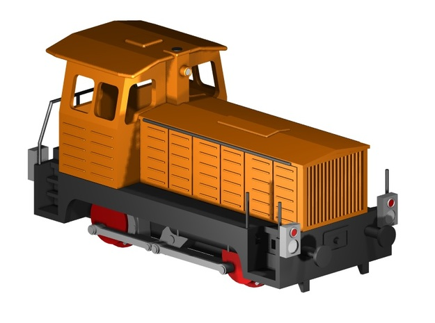 BR 102 - Gartenlaube (Z 1:220) in Smooth Fine Detail Plastic