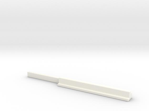 Z 012 Betonträger Ladegut HO !.87 in White Processed Versatile Plastic