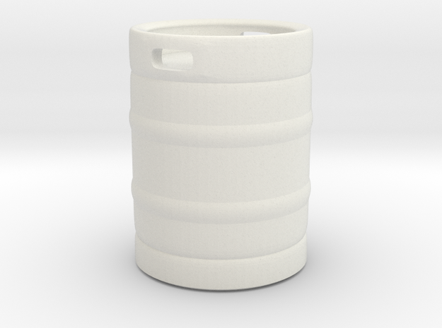 Beer Barrel 01. 1:24 Scale