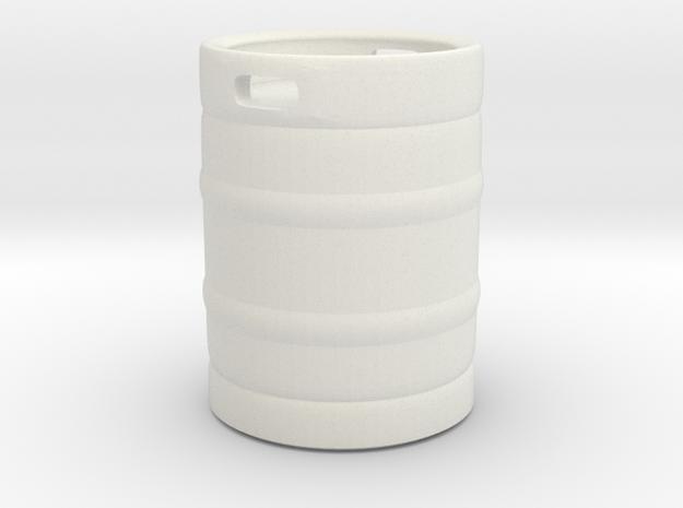 Beer Barrel 01. 1:24 Scale