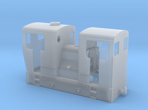 OO9 double ended Sentinel tram loco  3d printed