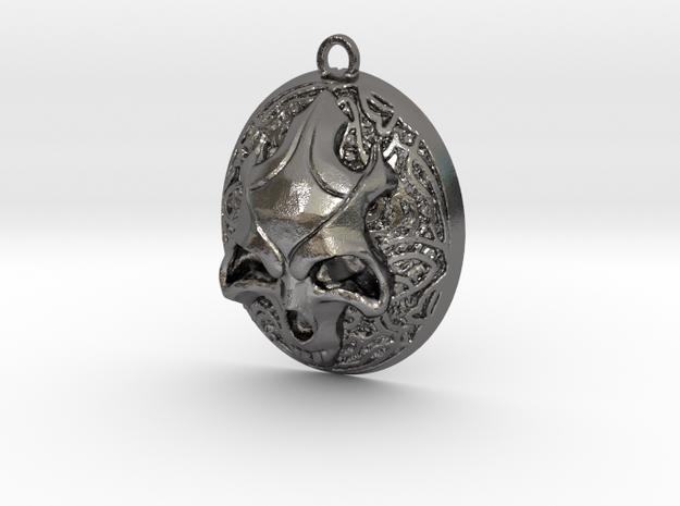 FELDOR pendant  in Polished Nickel Steel
