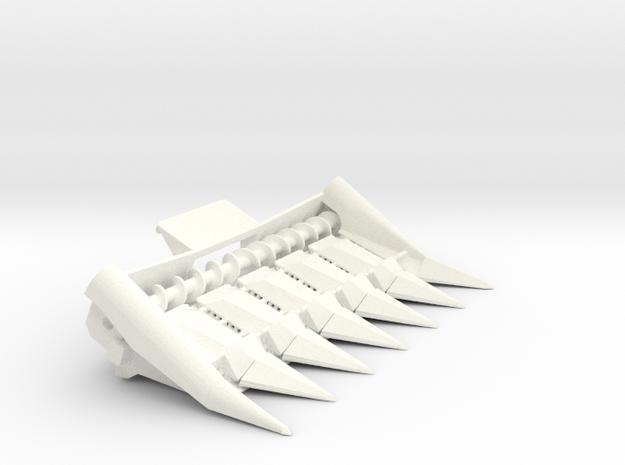 L/M 6row 30 inch in White Processed Versatile Plastic