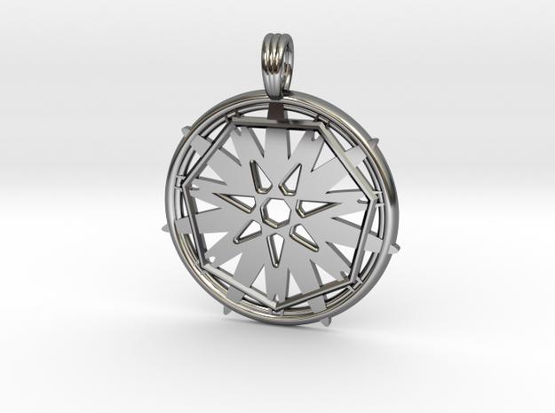 STARFIRE SEVEN in Premium Silver