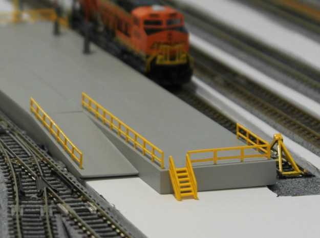 N Scale Stairs 6 (7 pc)