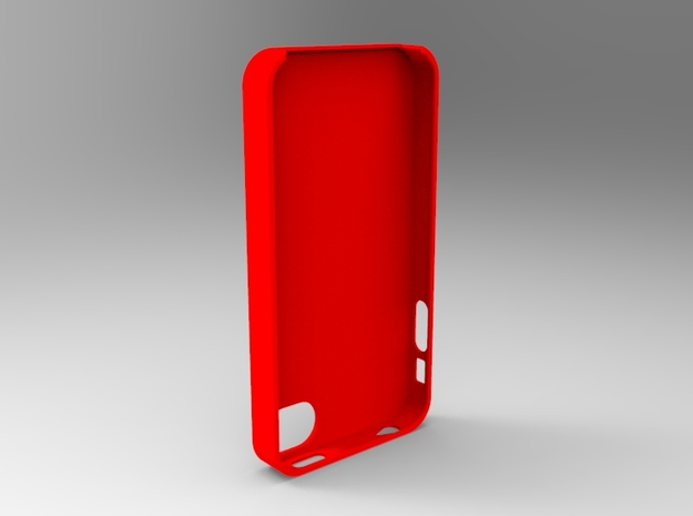Apple iphone 4/4s case in White Strong & Flexible