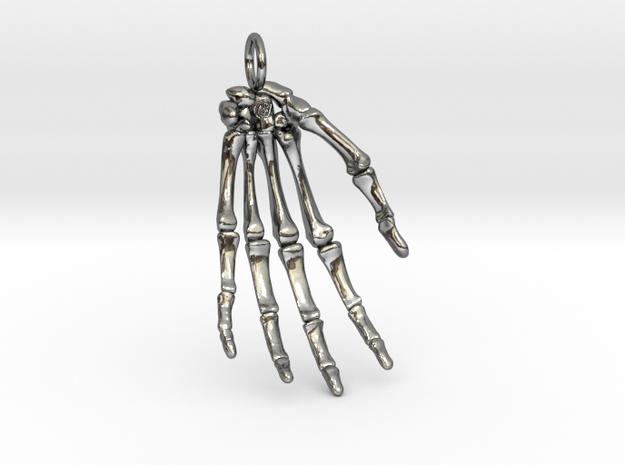 Hand bones with loop