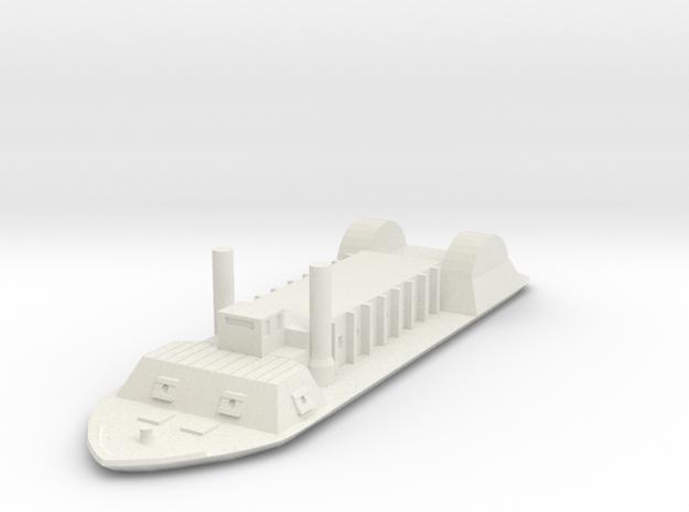 1/600 USS Indianola  in White Natural Versatile Plastic