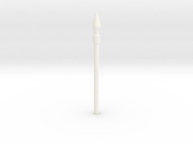 SPEAR in White Processed Versatile Plastic