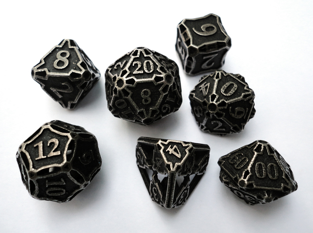 Large Premier Dice Set with Decader