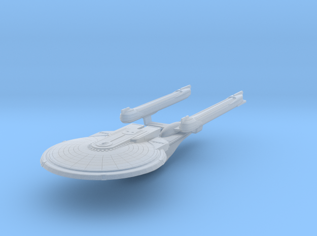 USS Lexington-B 1/7000 in Smooth Fine Detail Plastic