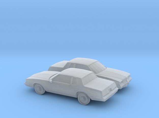 1/160 2X 1983 Oldsmobile Cutlass Supreme in Smooth Fine Detail Plastic