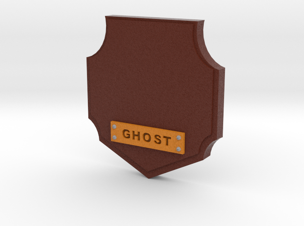 Ghost Hunter Trophy in Full Color Sandstone