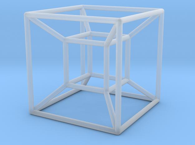 Tesseract (Hypercube) 3d printed