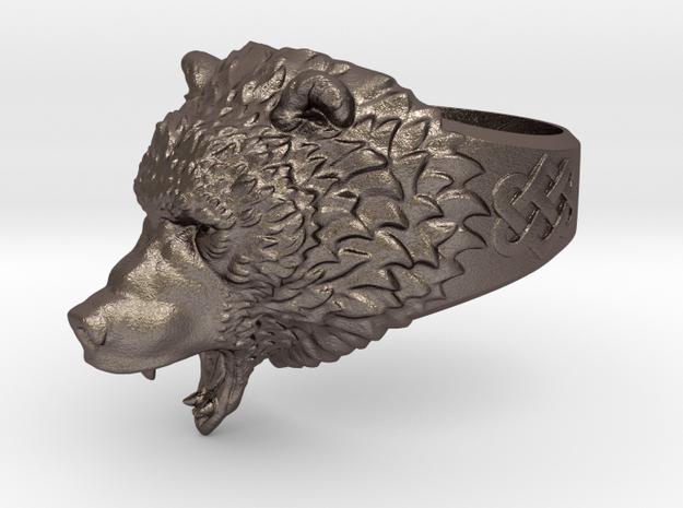 Roaring bear ring