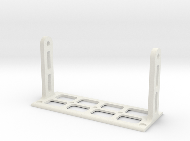 Raspberry Pi and Screen Mount Stand - Part 2/2 in White Natural Versatile Plastic