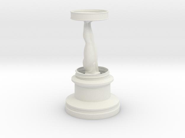 Oscar in White Natural Versatile Plastic
