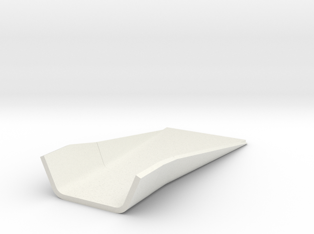 Marchtray in White Natural Versatile Plastic