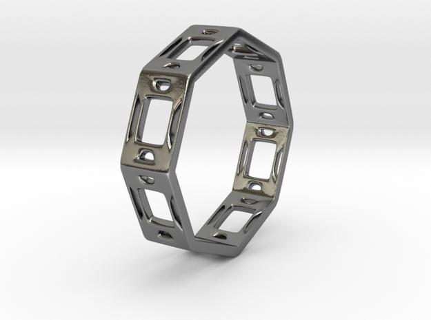 Bracelet2 in Polished Silver