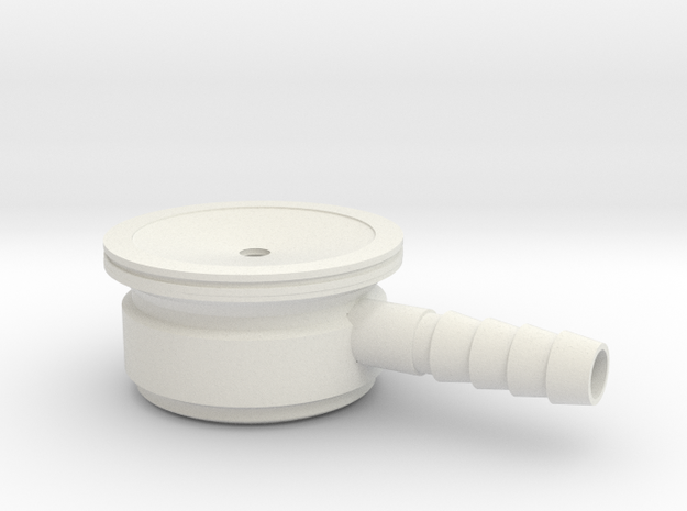 Stethoscope in White Natural Versatile Plastic