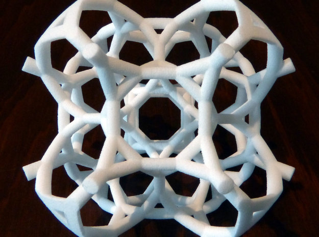 Half of a 48-cell 3d printed
