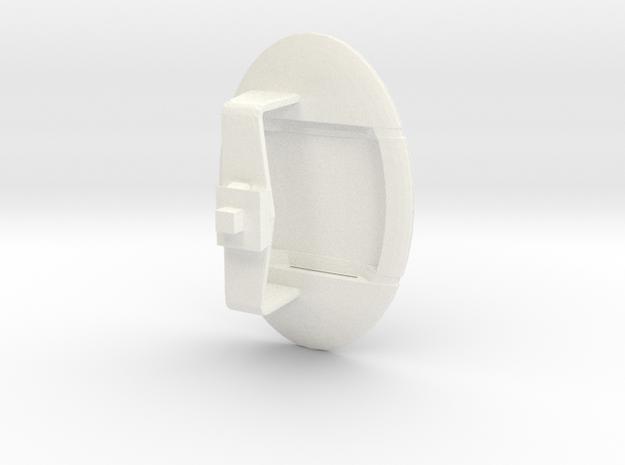 Sensor Pod (WSF) in White Processed Versatile Plastic