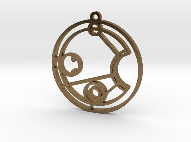 Jessica / Jessika - Necklace in Raw Bronze