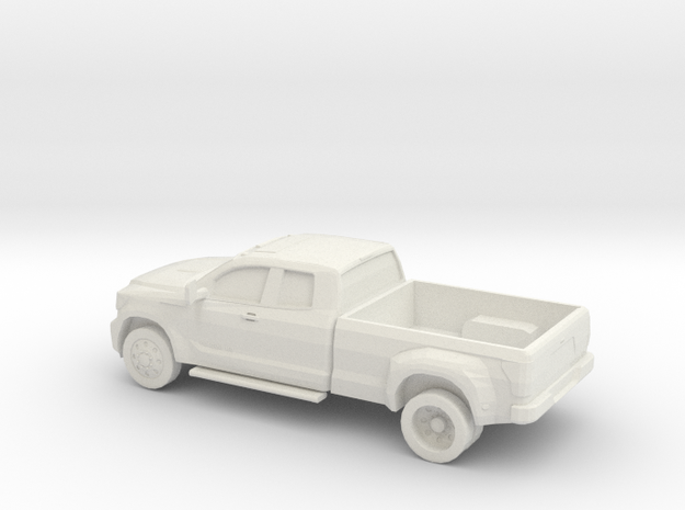 1/56 2011 Toyota Hd Dually in White Natural Versatile Plastic