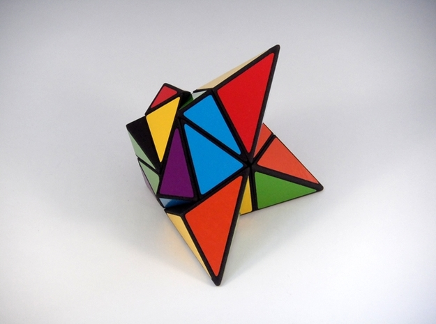 Edge of Insanity Puzzle 3d printed Jumbled