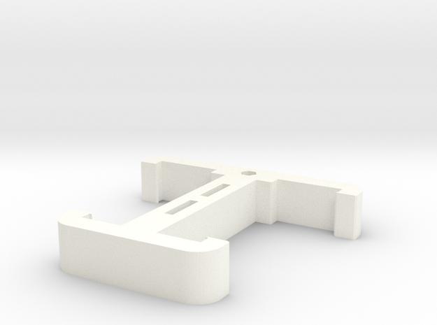 CZ Scorpion Evo 3 Dual Magazine Clamp in White Processed Versatile Plastic