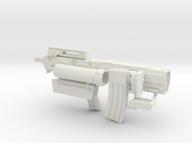 1:6 CZN M22 Bullpup SF in White Natural Versatile Plastic