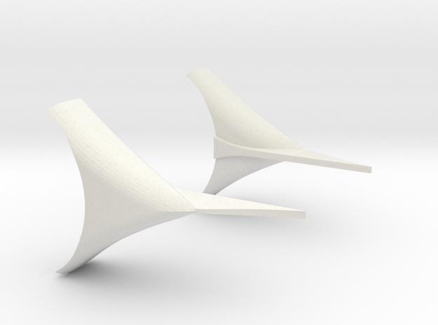 XO Fenders .034 in White Natural Versatile Plastic