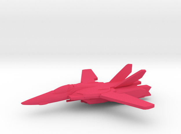 VF-1A 1/350 in Pink Processed Versatile Plastic