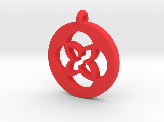 TU KeyChain Plastic in Red Processed Versatile Plastic