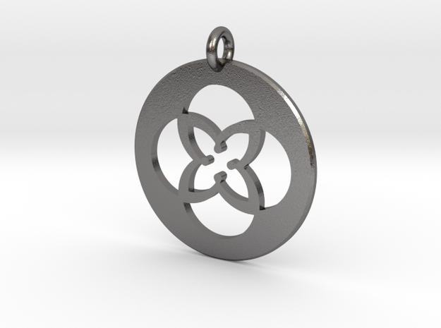 TU Pendant Metal in Polished Nickel Steel