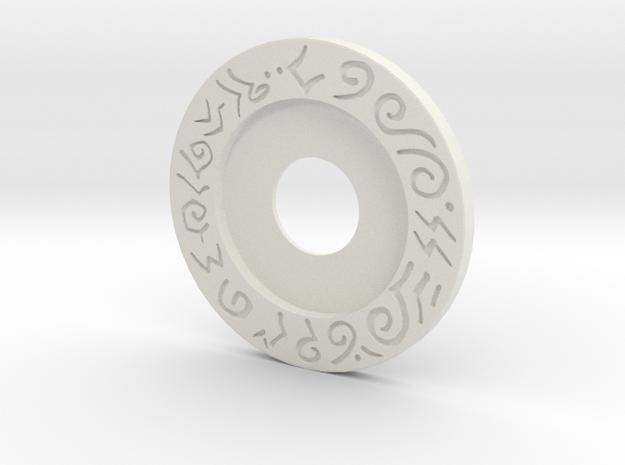 Mecha Glove - Scorpion box - Upper Ring in White Strong & Flexible