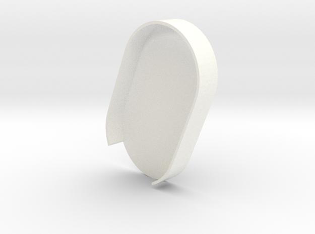 Mecha Glove - ScorpionBox - Lightbox bottom in White Strong & Flexible Polished