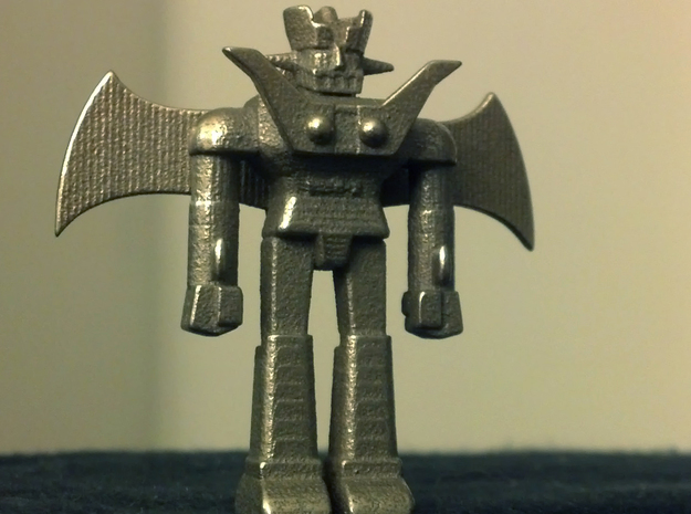 Mazinger Z with Jet Scrander and Iron Cutters in White Processed Versatile Plastic