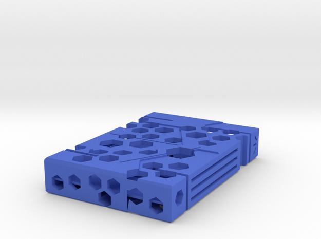 Portabiglietti in Blue Processed Versatile Plastic