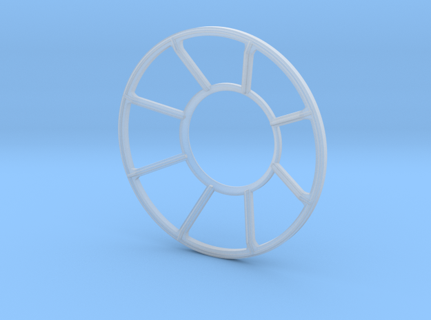 YT1300 HSBRO TURRET WELL WINDOW in Smooth Fine Detail Plastic