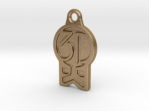 3DKitbash Logo Pendant 3d printed