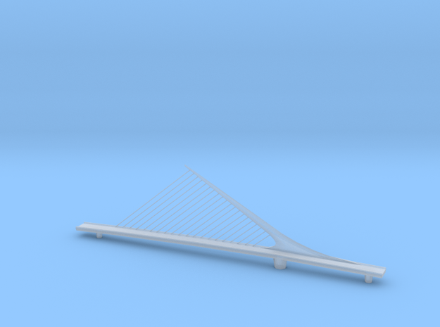 mulher_bridge in Smooth Fine Detail Plastic