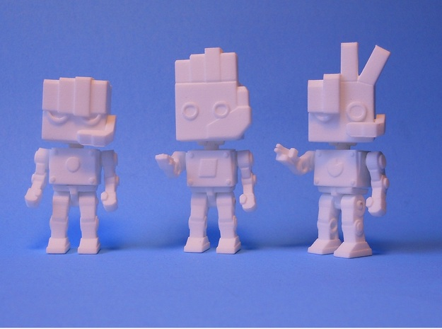 RPS BOTS 3d printed