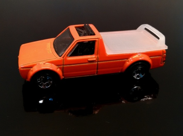 VW Caddy Hard cover Hotwheels in Smoothest Fine Detail Plastic