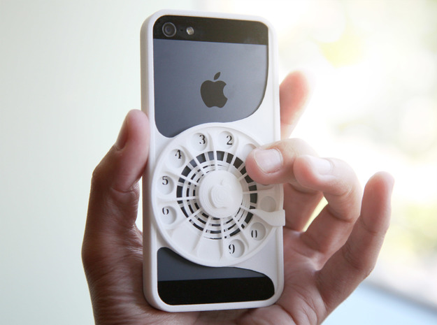 Rotary Phone Case for iPhone 5 / 5s