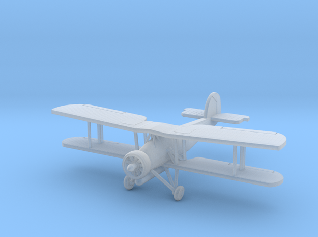 "1:200 Fairey Swordfish ""Torp armed"" 3d printed"